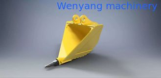 China KOMATSU 200/220/240 excavator V-type bucket/trapezoidal bucket 0.8m3-1.2m3 supplier