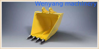 China KOMATSU 200/220/240 excavator V-type bucket/trapezoidal bucket 0.8m3-1.2m3 for sale supplier
