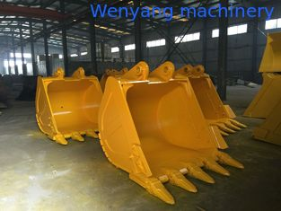 China Supply Caterpillar various models of excavator bucket 0.3m3-2.26m3 supplier