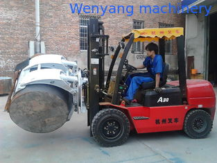 China 2T-2.7T Paper Roll Clamp For Forklift supplier