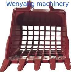 China Supply Doosan/Kobelco /Hyundai/Sumitomo/Kubota excavator brand grille bucket supplier