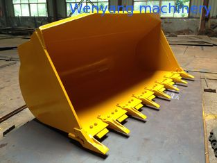 China supply good quality kOMATSU WA350-8 wheel loader standard bucket with bucket teeth supplier