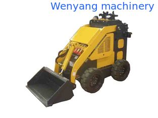 China Wenyang Machinery WY280 Mini skid steer loader with 4 in 1 bucket supplier