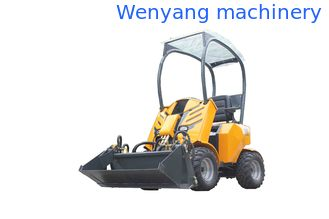 China Mini wheel loader WY200 load weight 260kg 0.15m3 bucket  made in China supplier