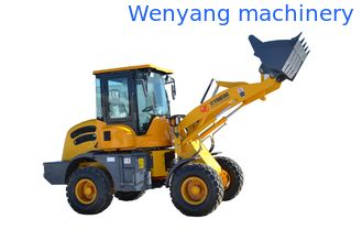 China Chinese brand Wenyang machinery WY10B 1ton rated load wheel loader with 0.5m3 bucket supplier