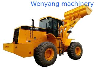China Chinese Wenyang machinery  WY958 5ton single rock arm  wheel loader  3m3 bucket Weichai engine supplier