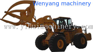 China Wenyang machinery WY978J 12Ton wheel loader with log grapple suitable for big diameter wood log supplier