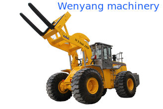China Good quality 20T quarry fork loader with 175KW Weichai engine supplier