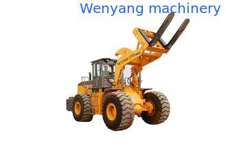 China Cross-country ability 23 ton granite shovel loader with pallet fork  with max lifting height 3480mm supplier