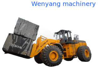 China Supply big capacity rought terrain mine machine 40T block forklift loader with 247KW engine supplier