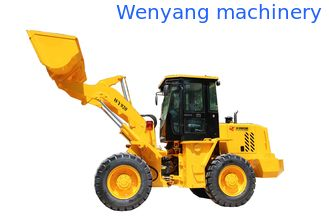 China Similar with XGMA 2tons mini wheel loader  1.5m3 bucket  capacity supplier
