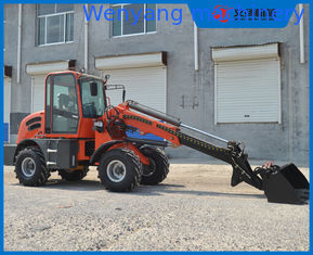 China 1.5ton 0.65m3 bucket telescopic wheel loader with max lifting height 4700mm supplier