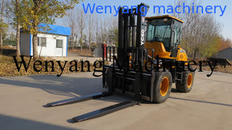 China China made 6ton DEUTZ engine 5m lifting height 4WD good off road performance rough terrain forklift supplier