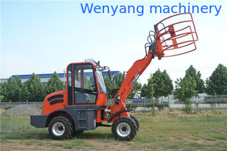 China Supply China made 4WD 1.5ton 0.7m3 bucket  meet Euro III front end small wheel loader supplier