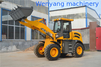 China Supply China made 4WD 2ton 1m3 bucket cummins engine front end small wheel loader supplier
