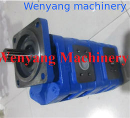 China Supply Lonking wheel loader spare parts  double gear pump CBG2080 / 2040-B3BL supplier