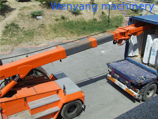 China 12ton stone handling equipment telescopic crane for bundle marble salb loading supplier
