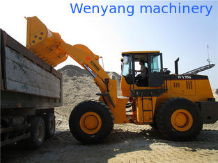 China 5ton good quality joystick control front end loader wiith cummins engine for sale supplier