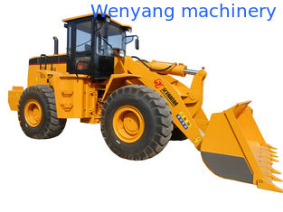China 5ton 3m3 bucket  capacity single rocker arm payloader with Weichai engine supplier