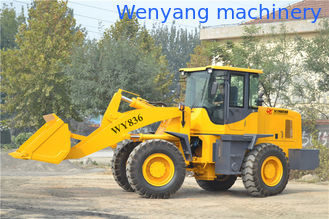 China China construction machine 3ton wheel loader with 1.7m3 bucket capacity supplier