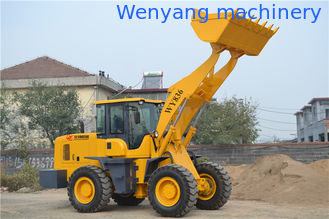 China Manufactured 3ton 1.7m3 bucket capacity  joystick control wheel loader with fast coupling supplier
