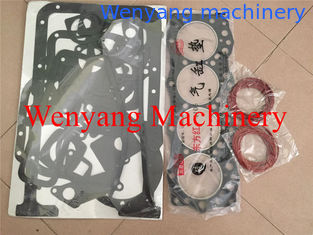 China China wheel loader spare parts YTO 4105 engine repair kits and gasket set supplier