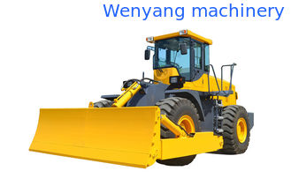 China China made wheel loader with Angling and Tilting blade dozer supplier