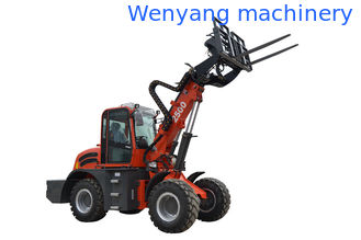 China China WY2500 farm machinery telescopic loader with pallet fork supplier