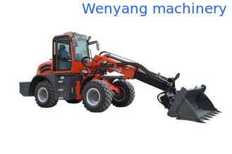 China Wenyang Machinery WY2500 telescopic loader with 4 in 1 bucket supplier