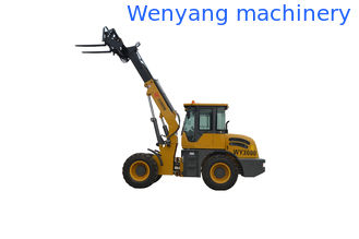 China China WY3000 lifting farm machinery  telescopic loader with fork supplier