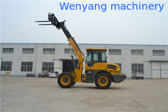 China WY3000  5.4m lifting height telescopic forklift for hay stacking supplier
