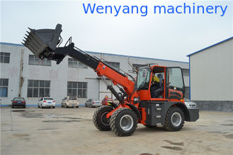 China WY2500  contruction machienry 4WD telescopic wheel loader 1.3m3 supplier