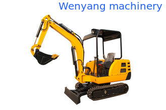 China China 2.2ton min digger compact rubber track crawler excavator supplier