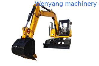 China China WY75H 7.5ton crawler digger cralwer excavator with ISUZU  engine supplier