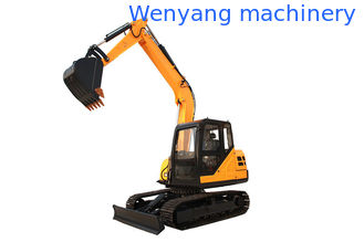 China China WY90H 9ton crawler digger cralwer excavator with Cummins engine supplier