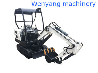 China WY18H China machinery 1.8T small digger mini cralwer excavator supplier