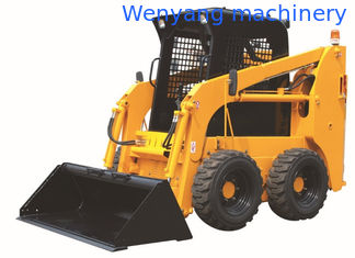 China China WY45G 700kg Bobcat type quick hitch small skid steer  loader supplier