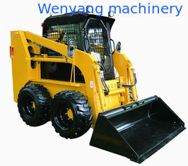 China China WY60G 850kg 0.5m3 Bobcat type quick hitch skid steer  loader supplier