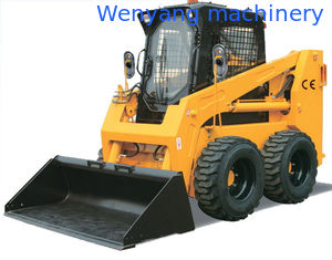 China China WY75S 1050kg 0.5m3 Bobcat type quick hitch skid steer  loader supplier