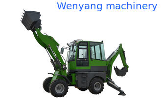 China China CE approved WY22-16  1.6ton 4WD backhoe loader with excavator supplier