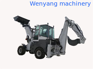 China China  WY22-16  1.6ton 4WD telescopic backhoe loader with excavator supplier