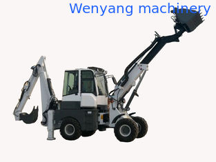 China WY22-16  1.6ton 4WD telescopic backhoe loader dumping height 5.2m supplier