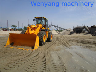China China factory WY958  single arm 5ton 3m3 weichai engine front end loader supplier