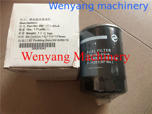 China Dongfeng  SC11CB220G2B1 engine spare parts fuel filter D00-305-03+A supplier