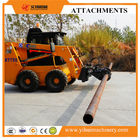 China China made good quality skid steer loader attachment rotating wire pole clmap for sale factory