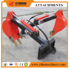 China skid steer loader attachment digger attachment  mount on skid steer loader factory