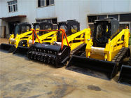 China China WY100 track skid steer loader with heavy duty forestry mulcher factory