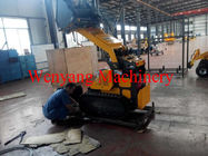China China made mini crawler skid steer loader deliver to Australia factory