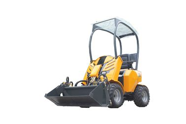 China Mini wheel loader WY200 load weight 260kg 0.15m3 bucket  made in China factory