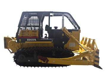 China Chinese XG4221L forestry logging bulldozer with mechnical winch for Africa muddy woodland distributor